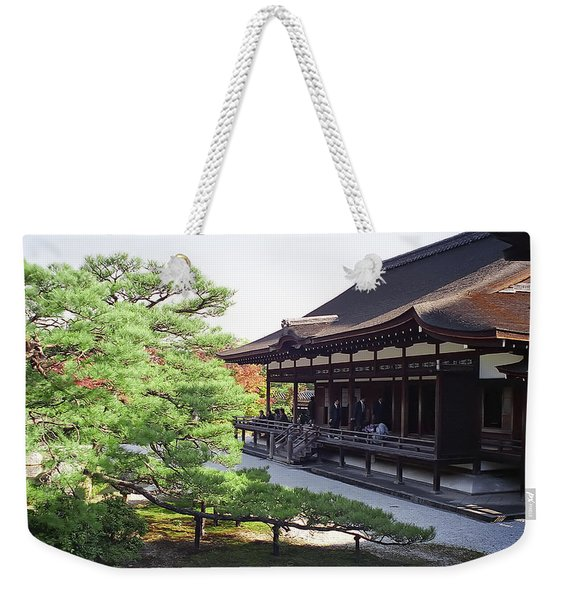 Ninna-ji Temple Garden - Kyoto Japan Weekender Tote Bag