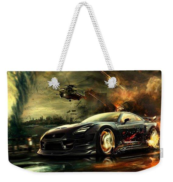 Nissan G T R Weekender Tote Bag