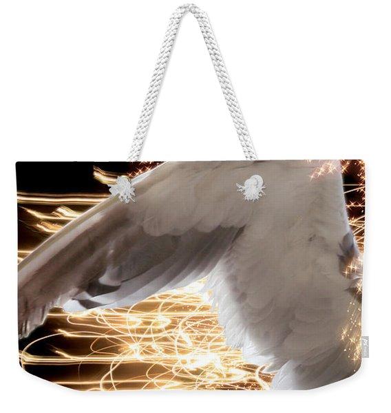 Nissrine An Angels Radiance Weekender Tote Bag