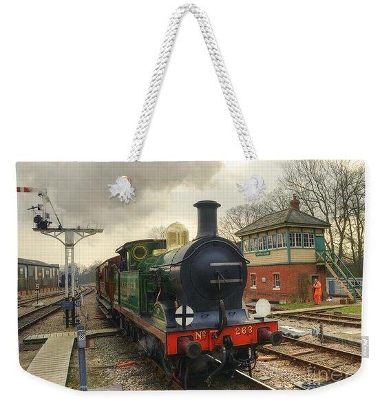 No 263 At Horsted Keynes  Weekender Tote Bag