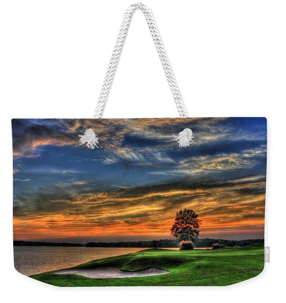 No Better Day Golf Landscape Art Weekender Tote Bag