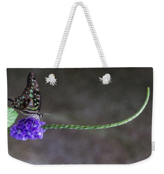 Butterfly - Tailed Jay II Weekender Tote Bag