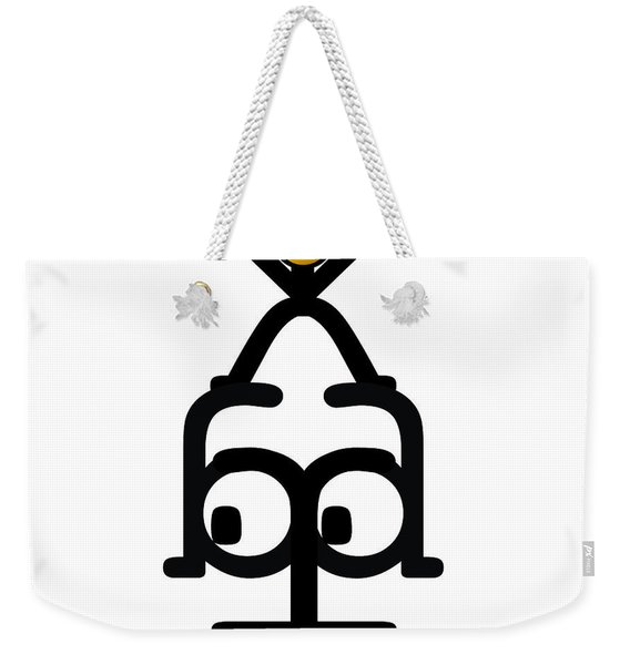No Worry Babe Weekender Tote Bag