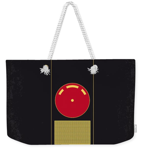 No003 My 2001 A Space Odyssey 2000 Minimal Movie Poster Weekender Tote Bag