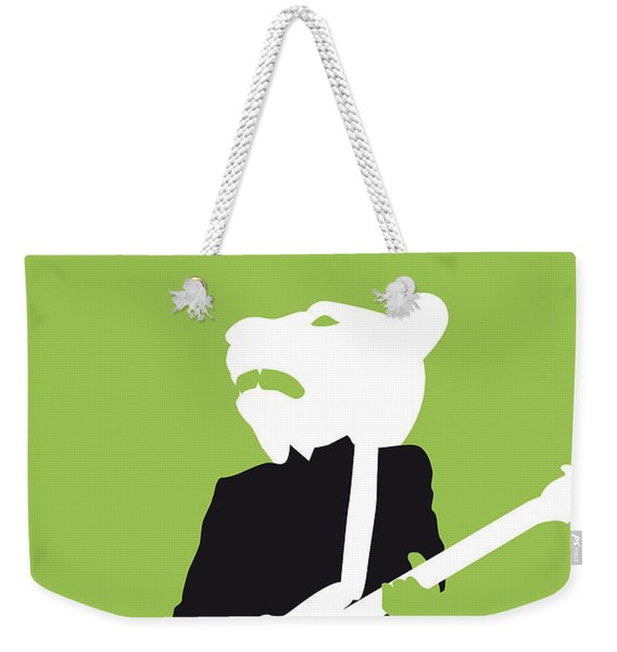 No006 My Teddy Bears Minimal Music Poster Weekender Tote Bag