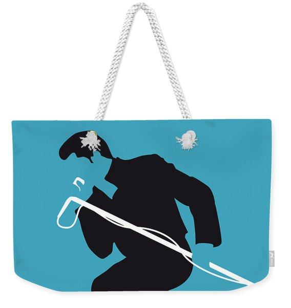 No018 My James Brown Minimal Music Poster Weekender Tote Bag