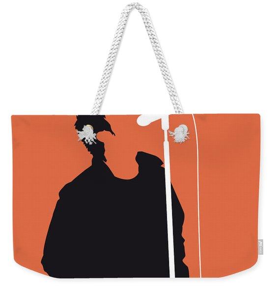 No023 My Oasis Minimal Music Poster Weekender Tote Bag