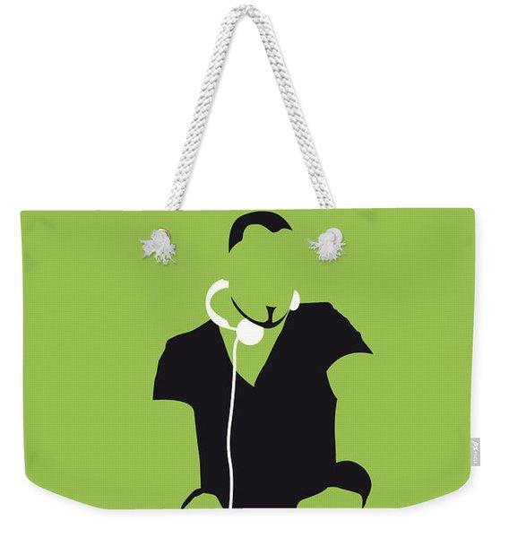 No026 My Afrojack Minimal Music Poster Weekender Tote Bag