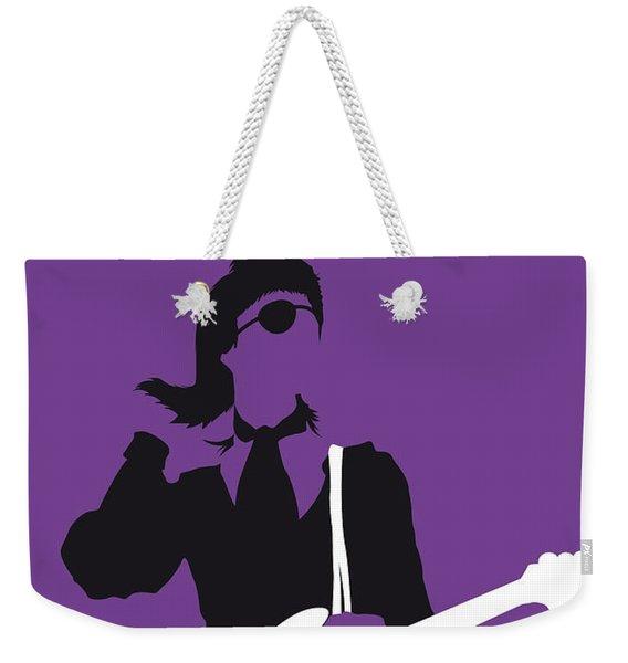 No031 My Bowie Minimal Music Poster Weekender Tote Bag