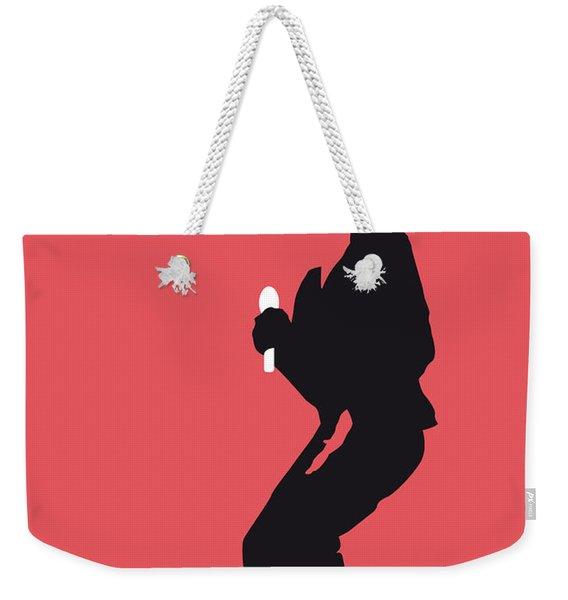 No032 My Michael Jackson Minimal Music Poster Weekender Tote Bag