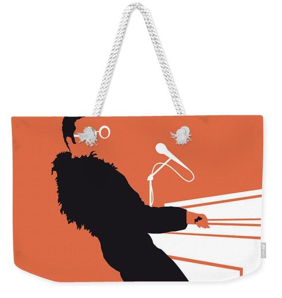 No053 My Elton John Minimal Music Poster Weekender Tote Bag