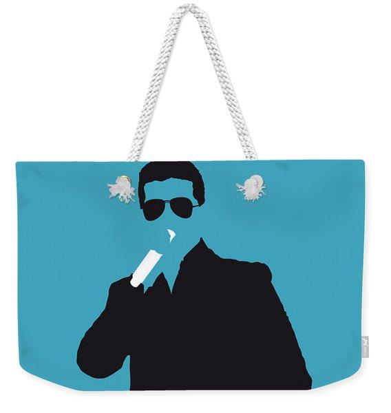 No055 My Robin Thicke Minimal Music Poster Weekender Tote Bag