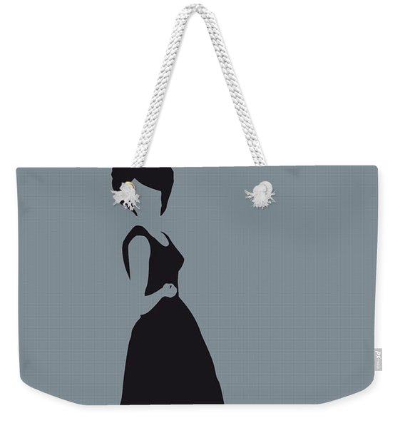 No057 My Diana Ross Minimal Music Poster Weekender Tote Bag