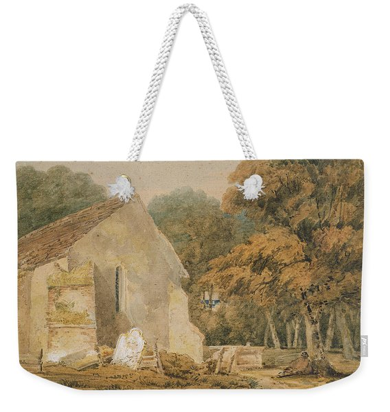 No.0735 A Country Churchyard, C.1797-98 Weekender Tote Bag