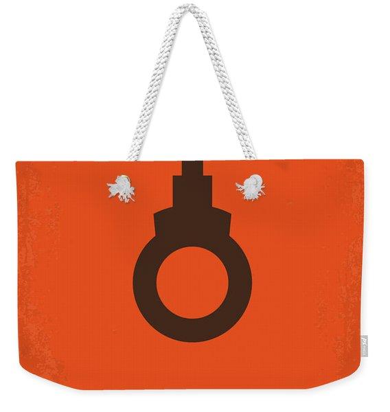 No105 My Dirty Harry Movie Poster Weekender Tote Bag