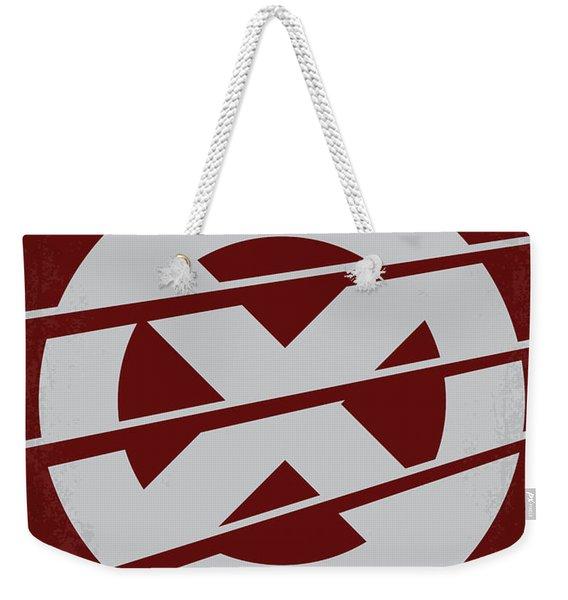 No123 My Xmen Minimal Movie Poster Weekender Tote Bag