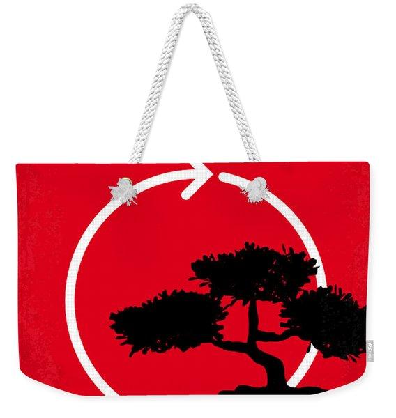 No125 My Karate Kid Minimal Movie Poster Weekender Tote Bag