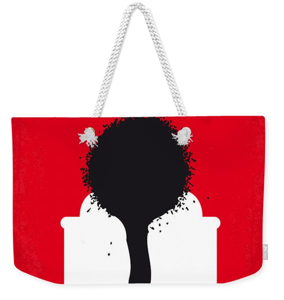 No130 My Exit Through The Gift Shop Minimal Movie Poster Weekender Tote Bag