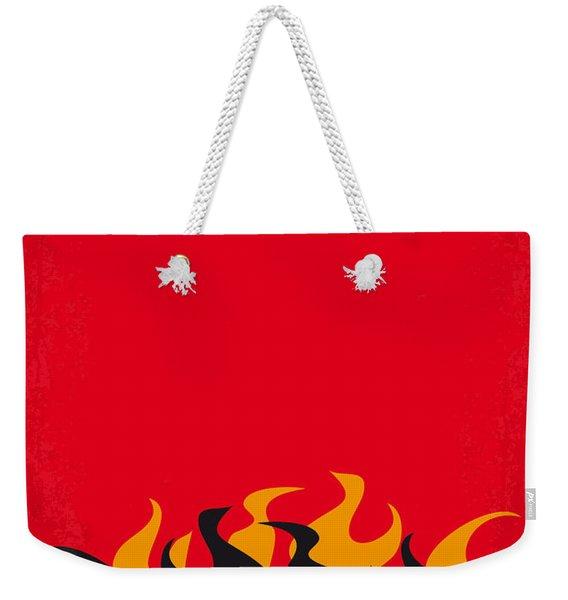No131 My Hellboy Minimal Movie Poster Weekender Tote Bag