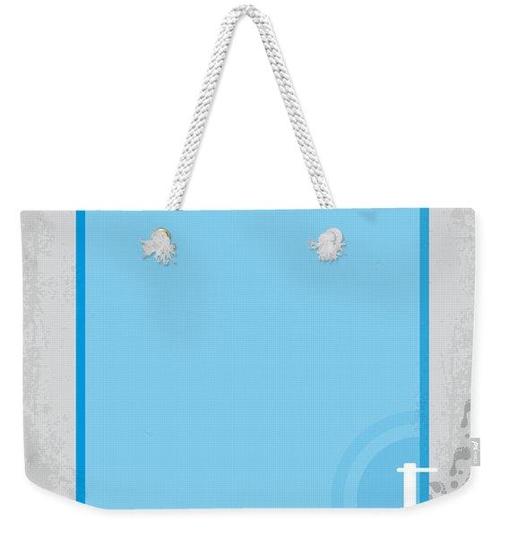 No137 My La Piscine Minimal Movie Poster Weekender Tote Bag