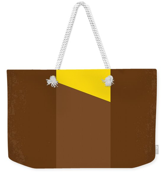 No149 My Willy Wonka And The Chocolate Factory Minimal Movie Poster Weekender Tote Bag