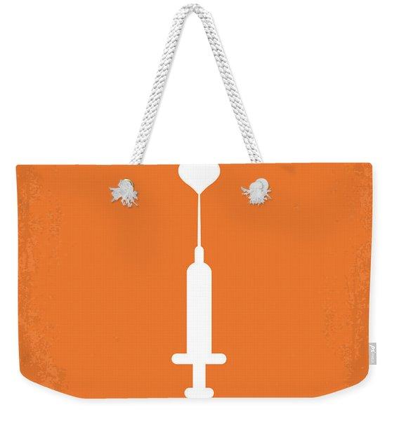 No152 My Trainspotting Minimal Movie Poster Weekender Tote Bag