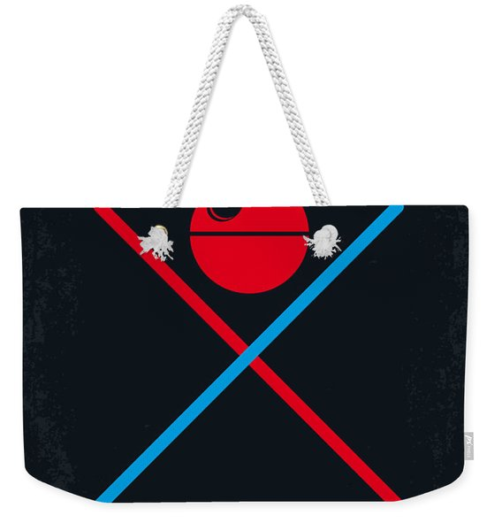 No154 My Star Wars Episode Iv A New Hope Minimal Movie Poster Weekender Tote Bag