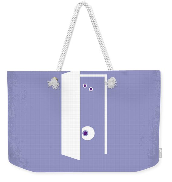 No161 My Monster Inc Minimal Movie Poster Weekender Tote Bag