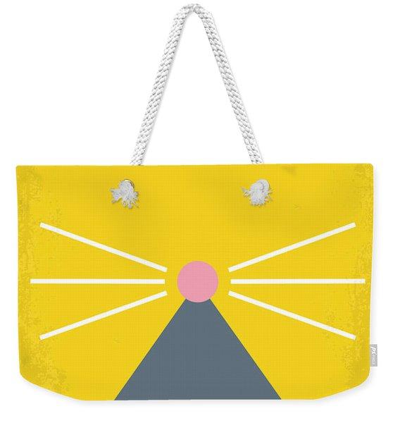 No163 My Ratatouille Minimal Movie Poster  Weekender Tote Bag