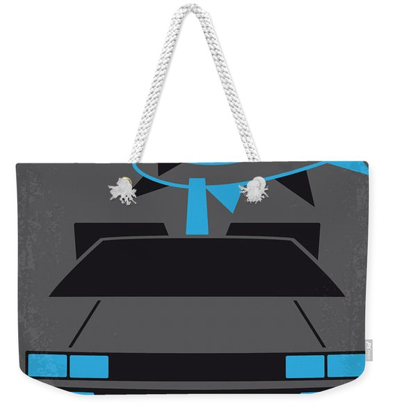 No183 My Back To The Future Minimal Movie Poster-part II Weekender Tote Bag