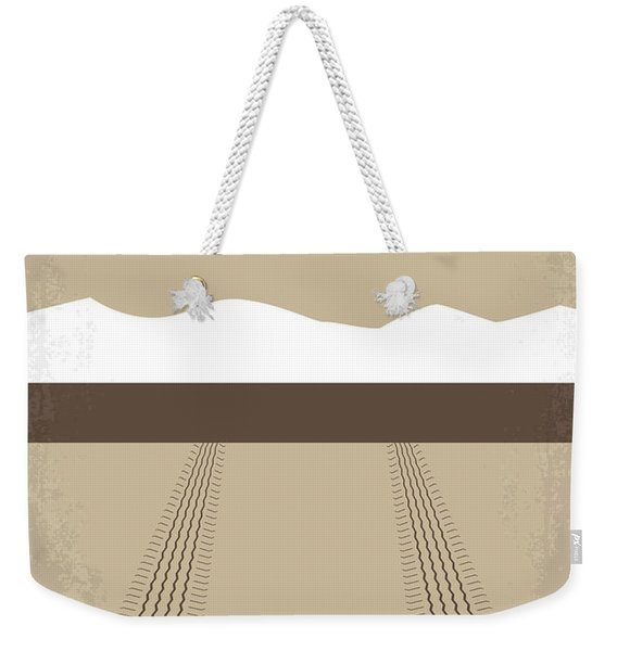 No189 My Thelma And Louise Minimal Movie Poster Weekender Tote Bag