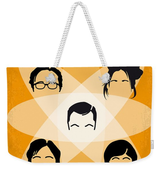 No196 My The Big Bang Theory Minimal Poster Weekender Tote Bag