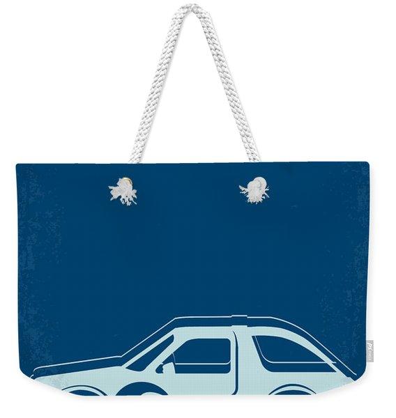 No211 My Waynes World Minimal Movie Poster Weekender Tote Bag
