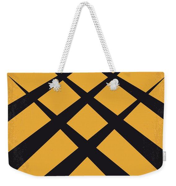 No222 My Wolverine Minimal Movie Poster Weekender Tote Bag