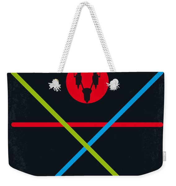 No223 My Star Wars Episode I The Phantom Menace Minimal Movie Poster Weekender Tote Bag