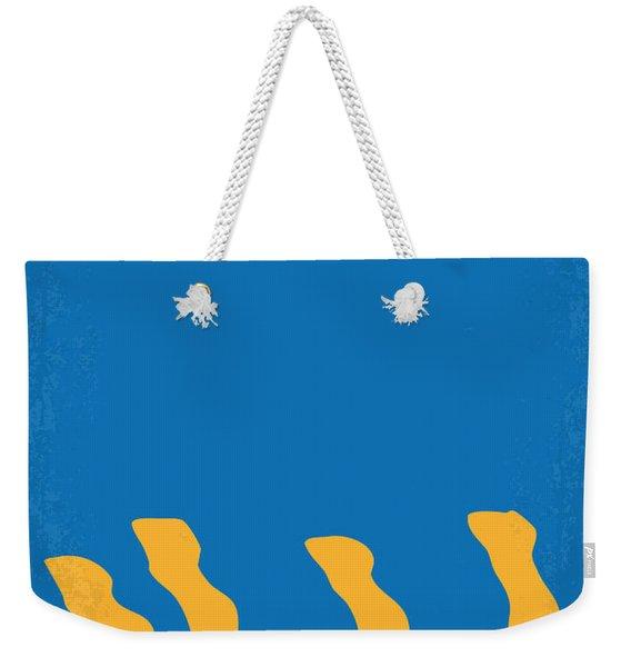 No230 My Animal House Minimal Movie Poster Weekender Tote Bag