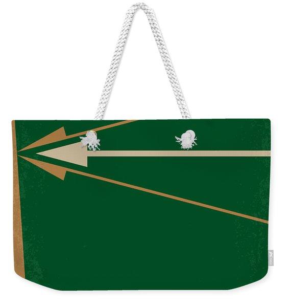 No237 My Robin Hood Minimal Movie Poster Weekender Tote Bag