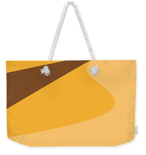 No251 My Dune Minimal Movie Poster Weekender Tote Bag
