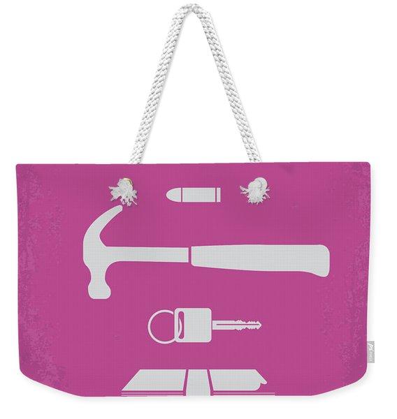 No258 My Drive Minimal Movie Poster Weekender Tote Bag