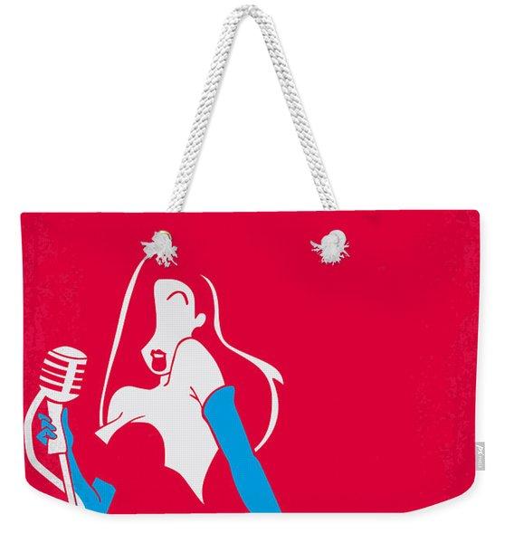 No271 My Roger Rabbit Minimal Movie Poster Weekender Tote Bag