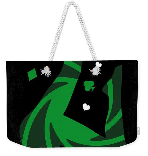 No277-007-2 My Casino Royale Minimal Movie Poster Weekender Tote Bag
