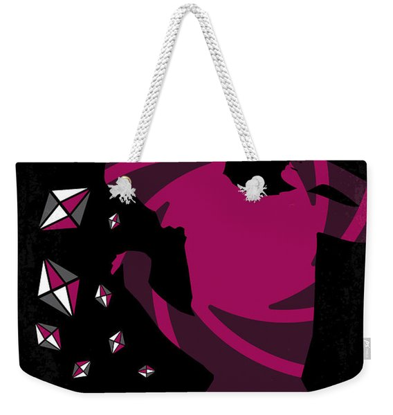 No277-007 My Diamonds Are Forever Minimal Movie Poster Weekender Tote Bag