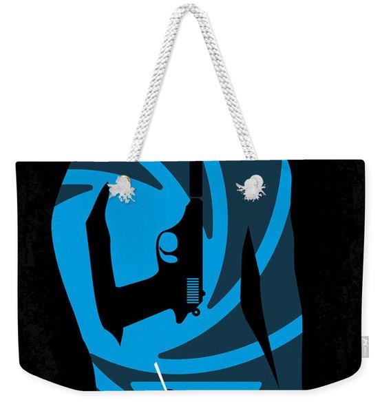 No277-007 My Dr No Minimal Movie Poster Weekender Tote Bag