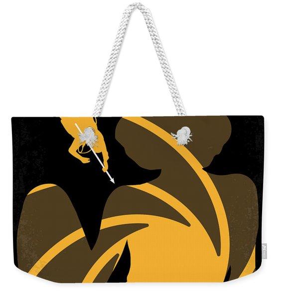 No277-007 My Thunderball Minimal Movie Poster Weekender Tote Bag
