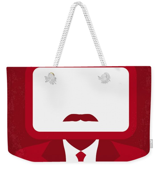 No278 My Anchorman Ron Burgundy Minimal Movie Poster Weekender Tote Bag