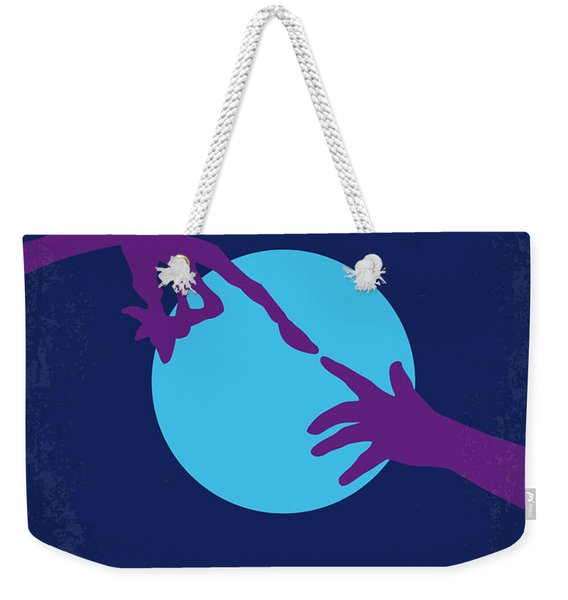 No282 My Et Minimal Movie Poster Weekender Tote Bag