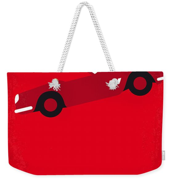 No292 My Ferris Bueller's Day Off Minimal Movie Poster Weekender Tote Bag