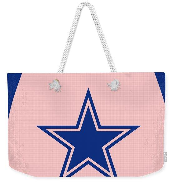 No302 My Debbie Does Dallas Minimal Movie Poster Weekender Tote Bag