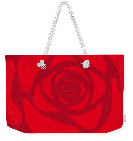 No313 My American Beauty Minimal Movie Poster Weekender Tote Bag