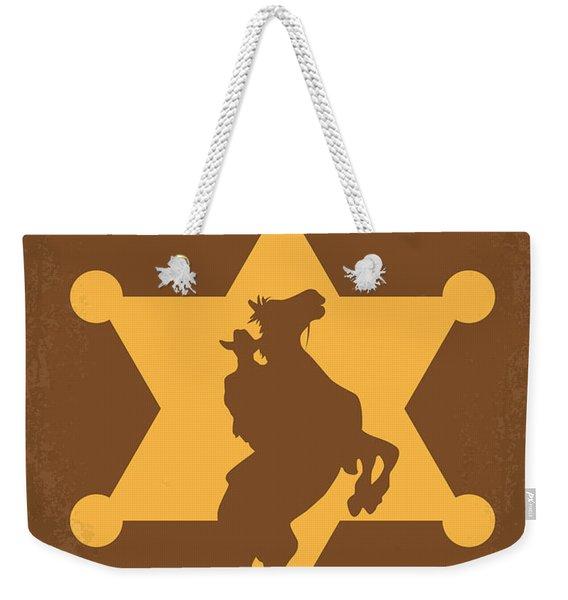 No322 My Rio Bravo Minimal Movie Poster Weekender Tote Bag
